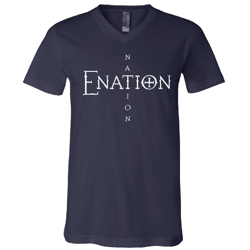 ENATION Nation V Neck Tee- PRESALE (Assorted Colors)