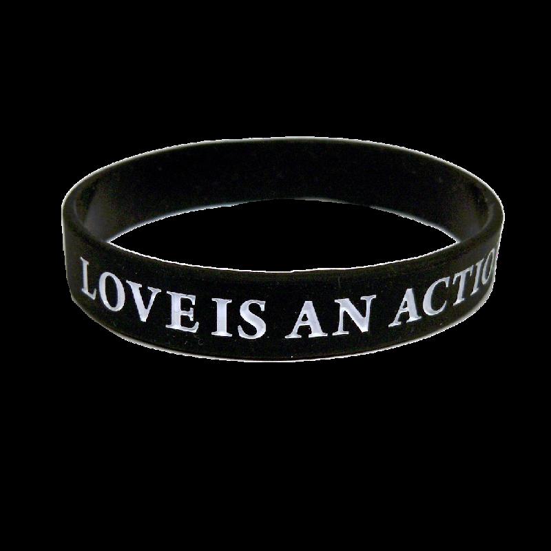 ENATION Love Is An Action Bracelet