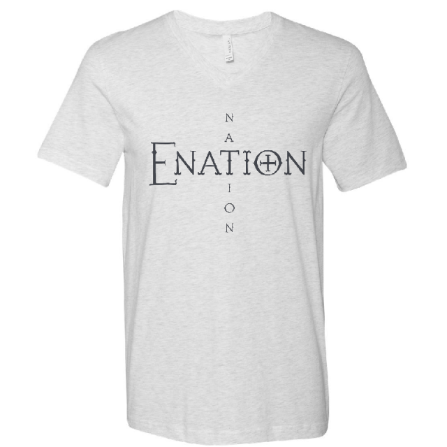 ENATION Nation V Neck Tee- (Assorted Colors)