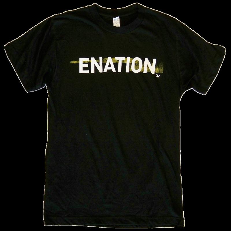 ENATION Black Logo Tee